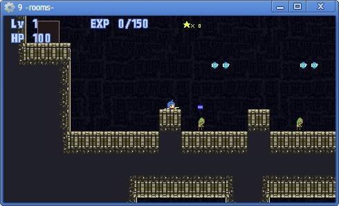 『迷宮の9-rooms-』の伏せて射撃しているシーン
