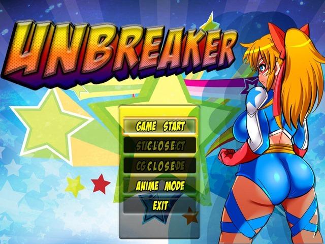 UNBREAKERのタイトル画面